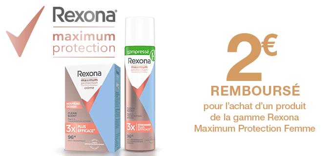 Rexona Anti-transpirant Maximum Protection
