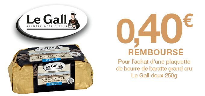 Beurre Le Gall Doux