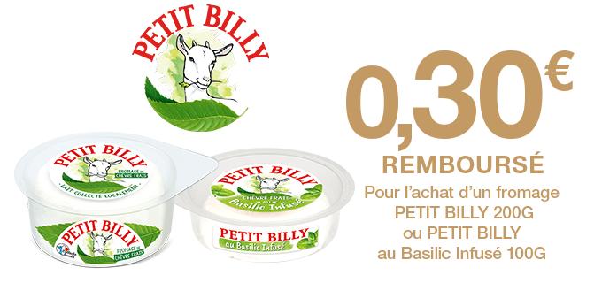 Petit Billy fromage de chèvre
