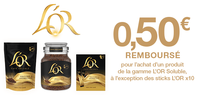 Gamme L'OR Soluble