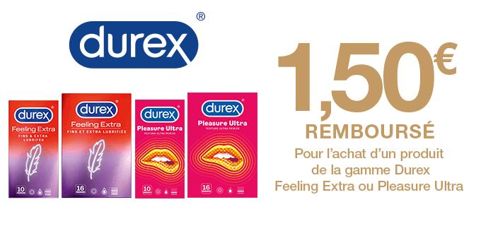 Preservatifs Durex