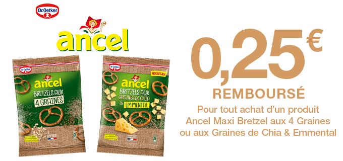 Ancel Bretzels aux graines