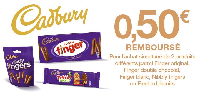 Finger Cadbury