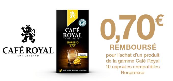 Café Royal x 10 caps