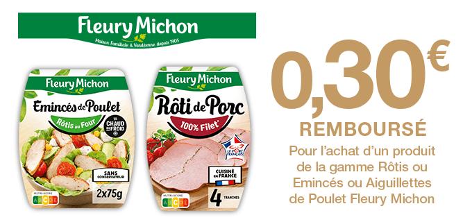 Fleury Michon Rôtis ou Emincés ou Aiguillettes de Poulet