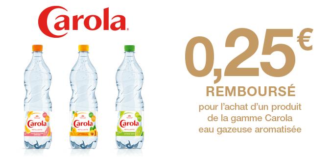 Carola aromatisée