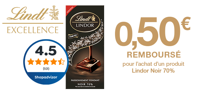 Lindor Noir 70% Cacao