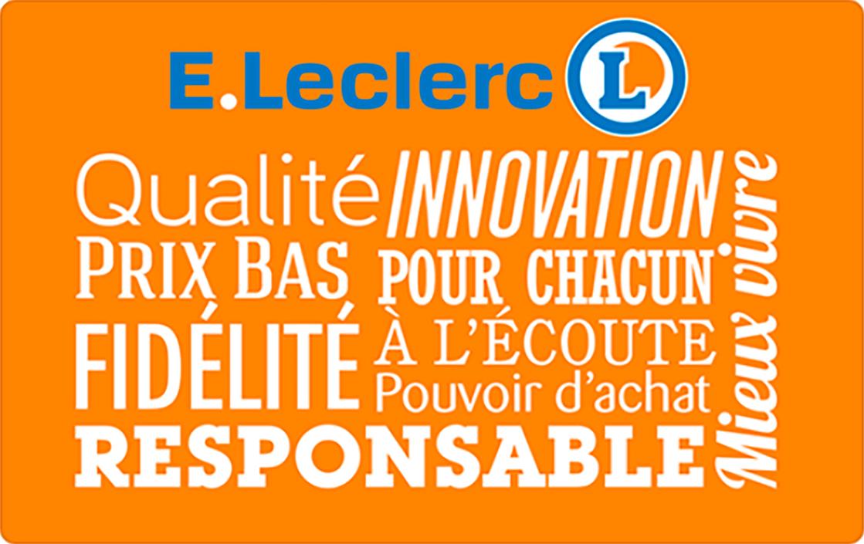 Carte de fidélité Leclerc